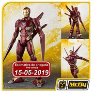 (RESERVA 10% DO VALOR) S.H Figuarts Iron Man Mark 50 Ano Arms Set Avengers Infinity War